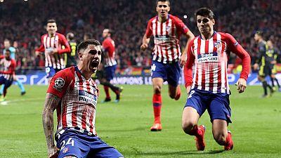 Tablero deportivo - Los goles del Atlético de Madrid 2 Juventus de Turín 0 - Escuchar ahora