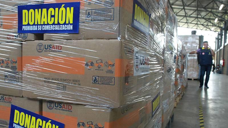 """14 horas - """"La ayuda humanitaria a Venezuela se está utilizando políticamente"""" - Escuchar ahora"""
