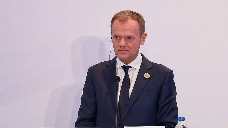 14 horas - Tusk aconseja a May posponer la fecha del 'Brexit' - Escuchar ahora