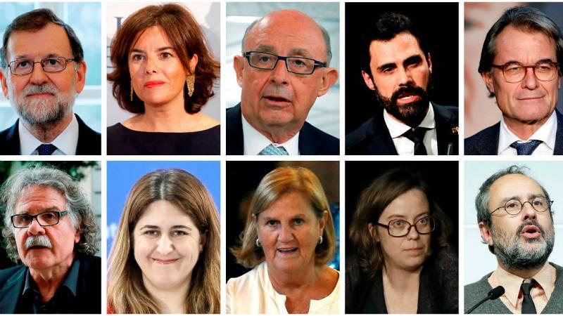Las mañanas de RNE con Íñigo Alfonso - Rajoy, Sáenz de Santamaría y Mas, testigos en el juicio del 'procés' - Escuchar ahora