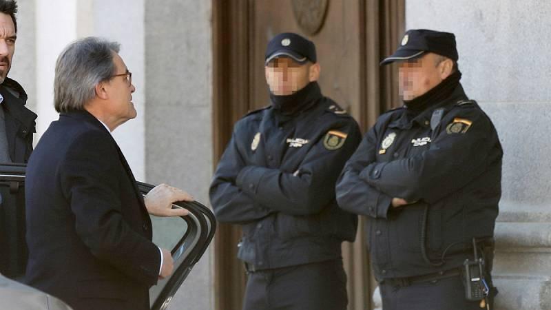 """Boletines RNE - Mas asegura que propuso a Rajoy interlocutores para mantener """"el hilo del diálogo"""" - Escuchar ahora"""