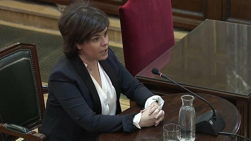 14 horas - Sáenz de Santamaría niega cualquier operación de diálogo con la Generalitat - Escuchar ahora