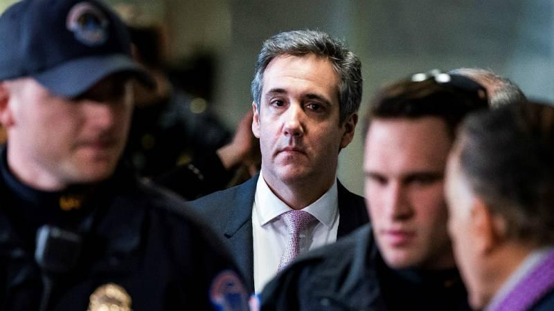 14 horas - Cohen testificará contra Trump ante el Congreso -Escuchar ahora