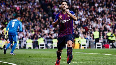 Tablero deportivo - Los goles del Real Madrid 0 F.C. Barcelona 3 - Escuchar ahora