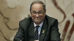 14 horas - Torra anuncia que mantendrá los lazos amarillos pese al ultimátum de la Junta Electoral