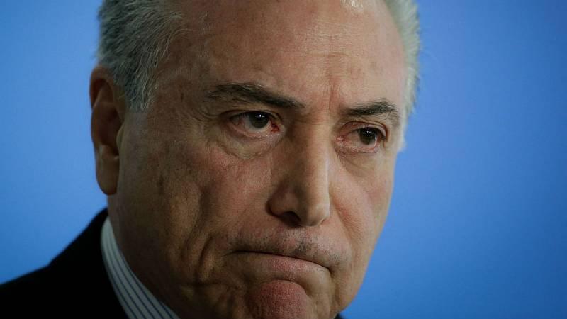 Boletines RNE - Detenido el expresidente de Brasil Michel Temer vinculado a la trama Lava Jato - Escuchar ahora