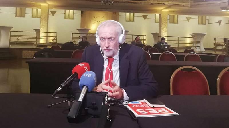 """24 horas - Jeremy Corbyn: """"No apoyaremos el acuerdo de Theresa May"""" - Escuchar ahora"""