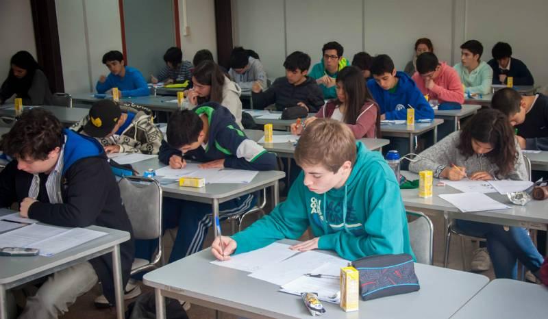 14 horas - 78 alumnos participan en la Olimpiada Matemática Española - Escuchar ahora