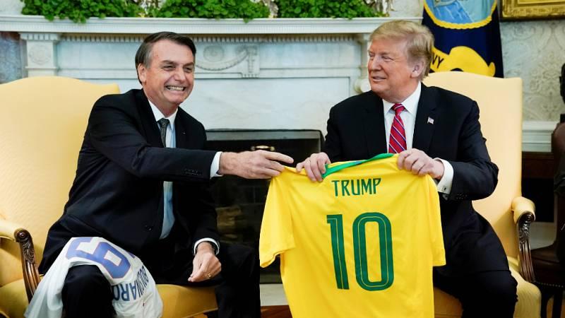 Enfoque Global en REE - Trump y Bolsonaro, ¿el comienzo de una gran amistad? - 23/03/19 - escuchar ahora