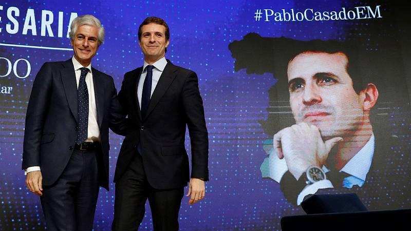14 horas - Casado confía en Suárez Illana como número 2 del PP por Madrid - Escuchar ahora
