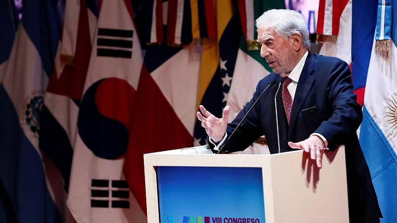 Boletines RNE - Vargas Llosa cree que López Obrador debió escribirse a sí mismo por los indios explotados - Escuchar ahora