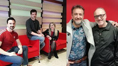 La sala - Guillem Clua, Jota Linares y Celia de Molina; Roberto Álvarez y José Luis García-Pérez - 31/03/19 - escuchar ahora