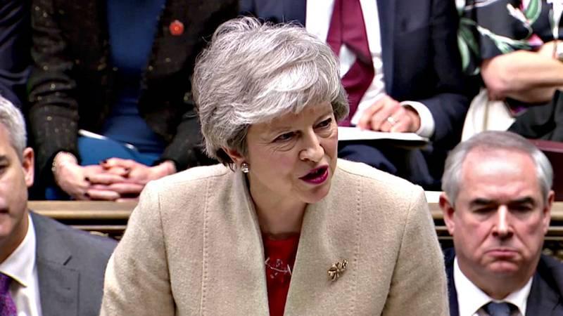 Boletines RNE - El acuerdo del Brexit de Theresa May rechazado por tercera vez - escuchar ahora