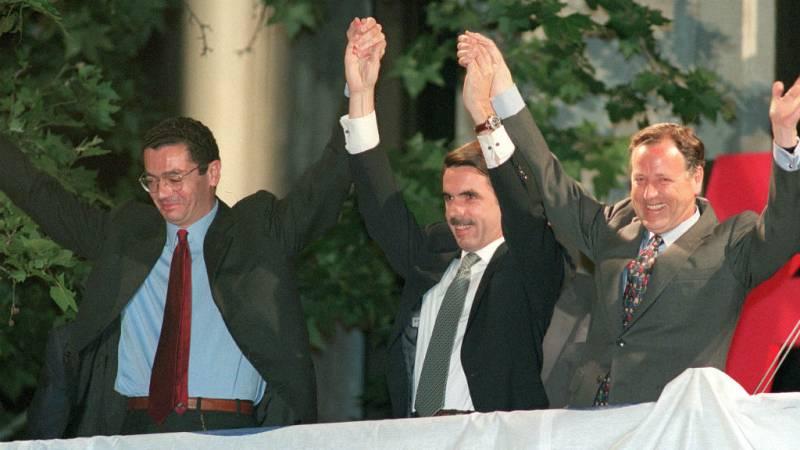 25 años de Radio 5 - La victoria de Aznar - Escuchar ahora