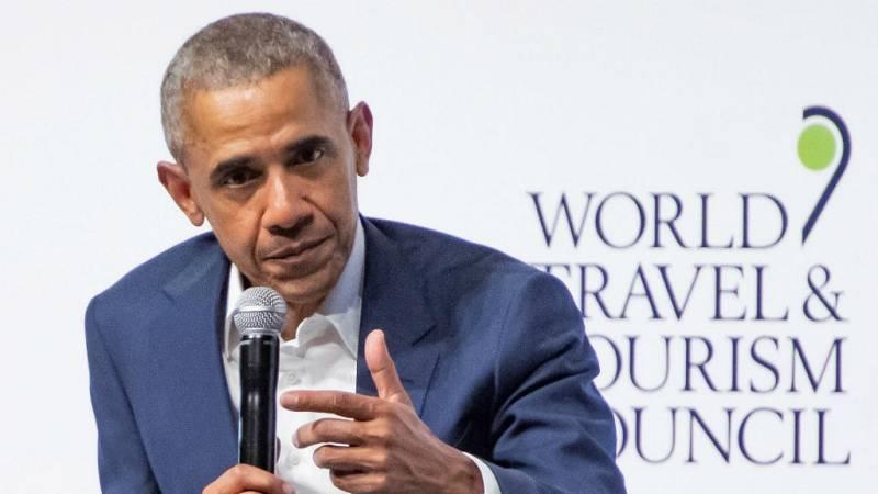 """Boletines RNE - Obama: """"La ultraderecha es una amenaza para la igualdad"""" - escuchar ahora"""