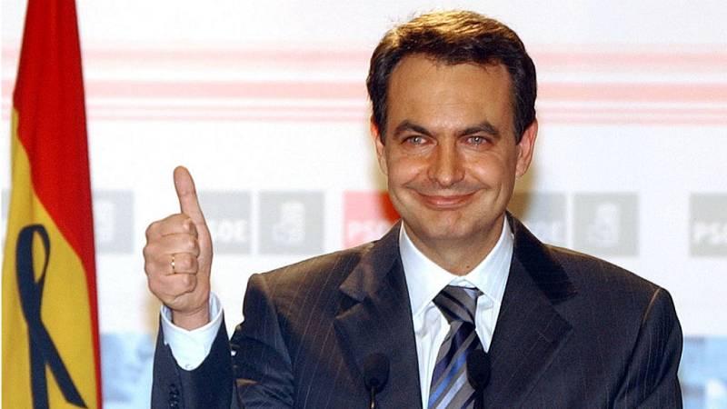 25 años Radio 5 - La victoria de Zapatero en 2004 - Escuchar ahora