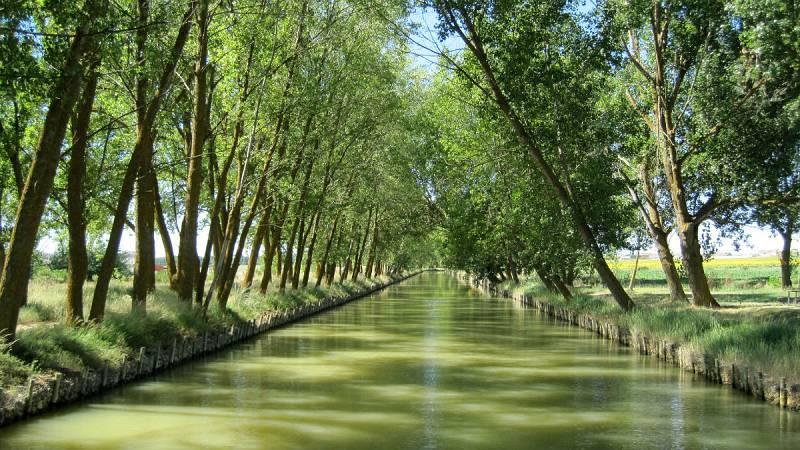Nómadas - Canal de Castilla: el campo navegable - 28/07/19 - Escuchar ahora