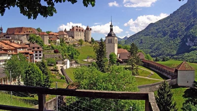Nómadas - Friburgo y Gruyères, sabor a Suiza - 14/04/19 - Escuchar ahora
