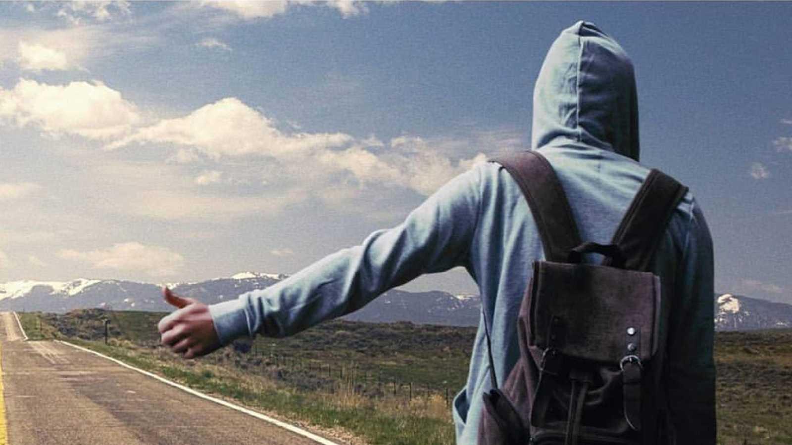 Punto de enlace - Leo Zelada y su libro 'El último nómada', un viaje por el interior de América - 18/04/19 - escuchar ahora