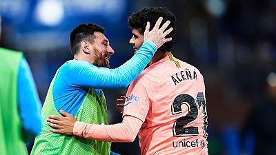 Tablero deportivo - Los goles del Deportivo Alavés 0 F.C. Barcelona 2 - Escuchar ahora