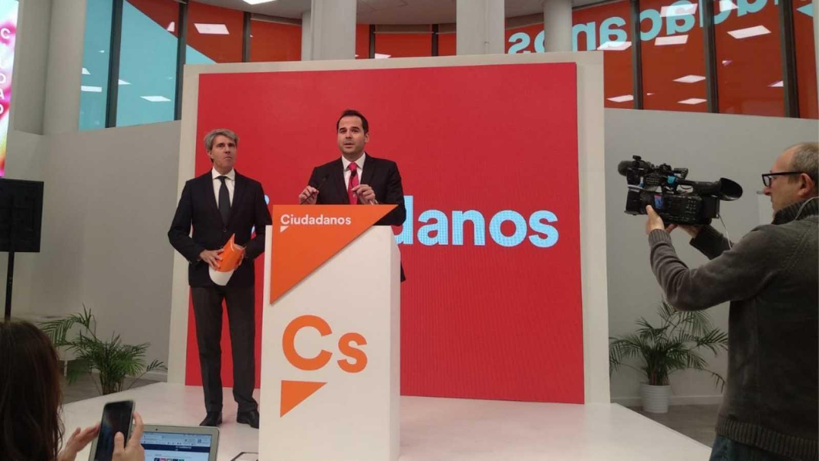Informativos Madrid - Ángel Garrido deja el PP y ficha por Ciudadanos para las elecciones autonómicas - escuchar ahora