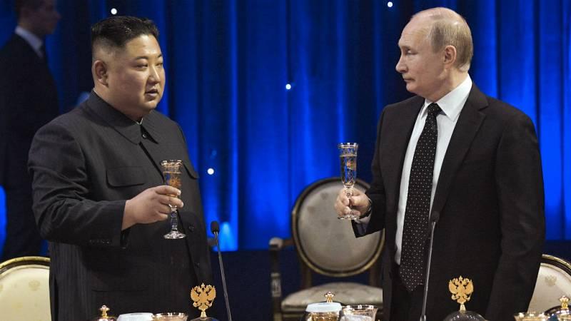 Boletines RNE - Acercamiento de Pyonyang y Moscú tras el bloqueo de las conversaciones con Washington - Escuchar ahora