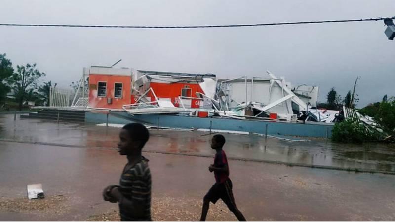 Un nuevo ciclón golpea a Mozambique - Escuchar ahora