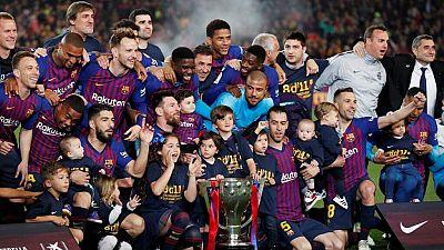 Tablero deportivo - El gol del F.C. Barcelona 1 Levante U.D. 0 - Escuchar ahora