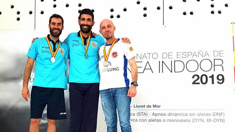 Españoles en la mar - Campeonato de España de Apnea - escuchar ahora