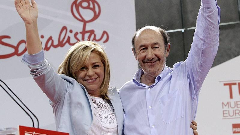 """Elena Valenciano: """"Rubalcaba no era consciente de lo importante que ha sido para España"""""""