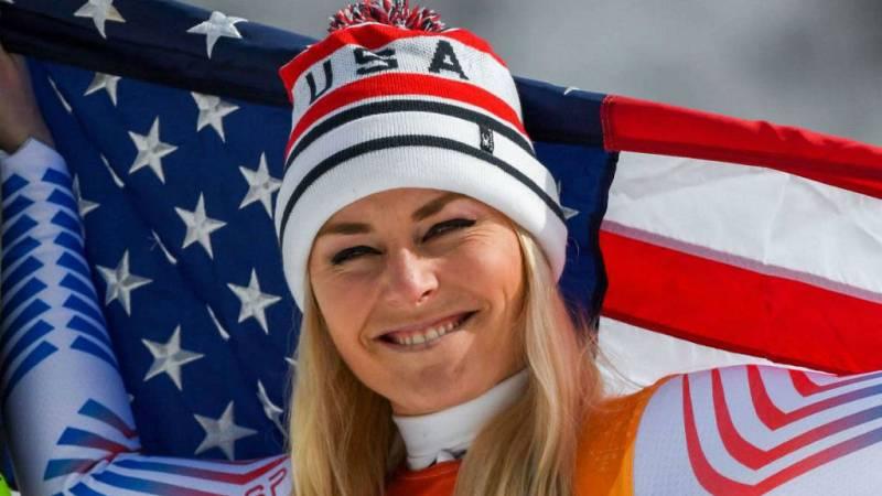 Boletines RNE - La esquiadora, Lindsey Vonn, Premio Princesa de Asturias de los Deportes - Escuchar ahora