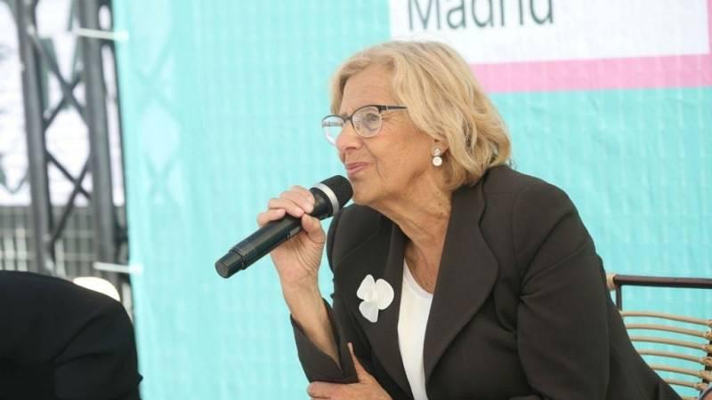 """Crónica de Madrid - Manuela Carmena: """"Madrid Norte saldrá adelante"""" - escuchar ahora"""