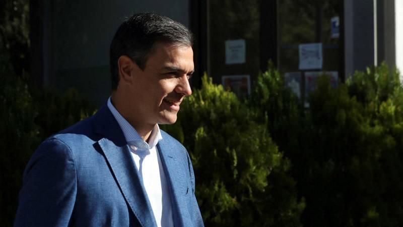 Boletines RNE - Pedro Sánchez analiza en Bruselas los posibles pactos - Escuchar ahora