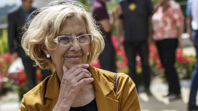 Boletines RNE - Manuela Carmena intentará mantenerse en la alcaldía de Madrid - escuchar ahora
