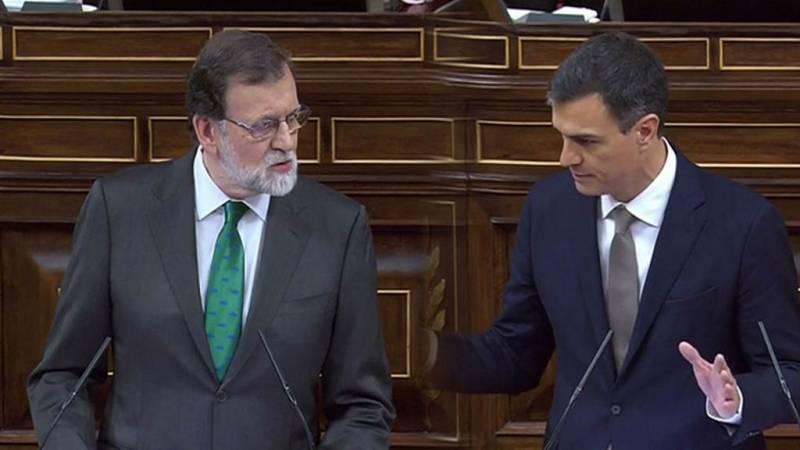 Se cumple un año de moción de censura contra Rajoy - Escuchar ahora