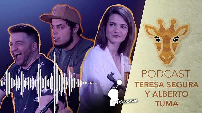 Jirafas, el podcast - Escucha ya el podcast de Jirafas con Teresa Segura y Alberto Tuma