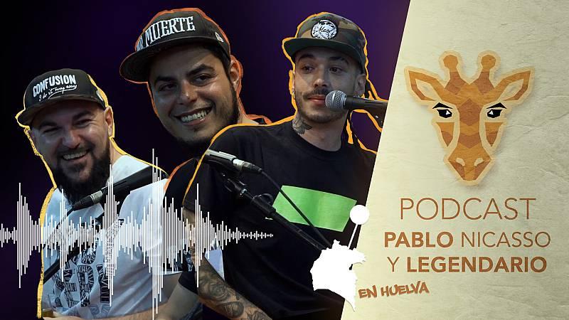 Jirafas, el podcast - Escucha ya el podcast de Jirafas con Pablo Nicasso y Legendario