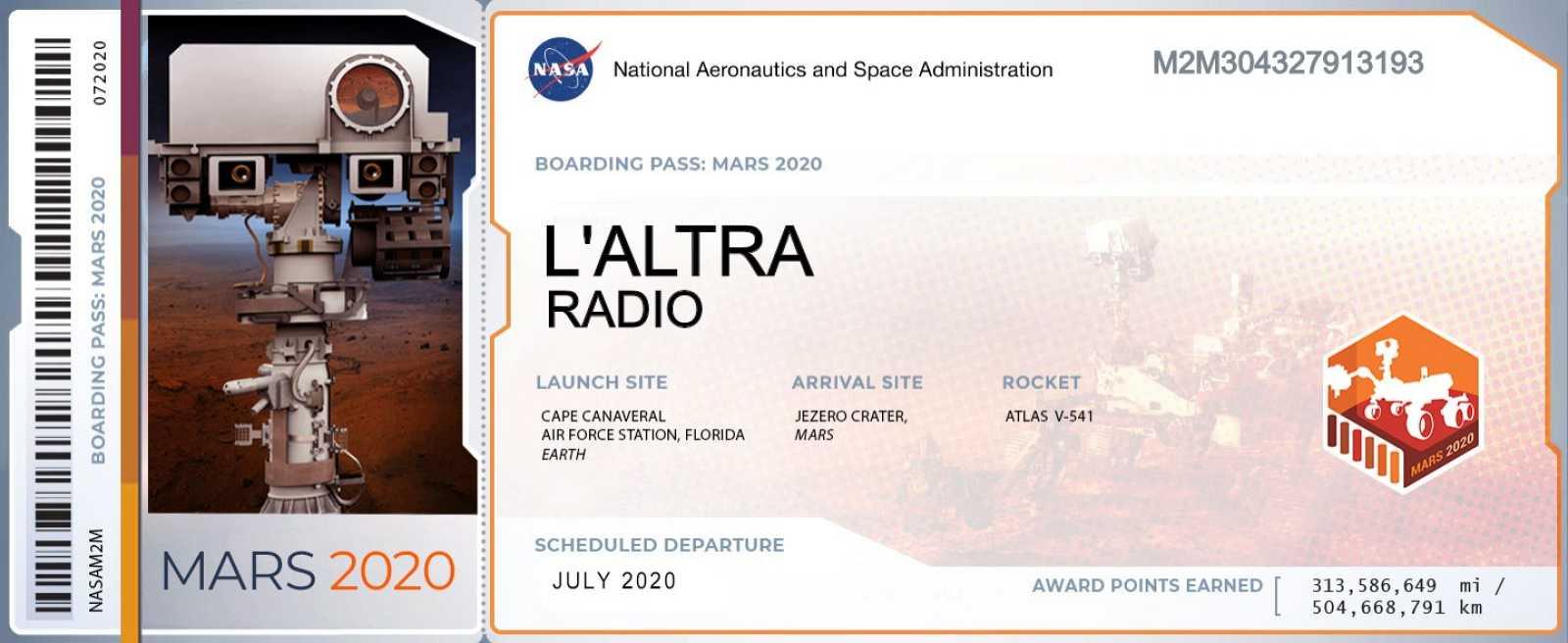 L'altra ràdio - L'exploració de Mart