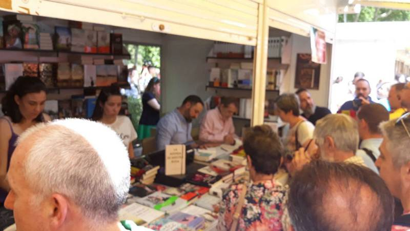 Feria del libro más de dos millones de visitantes y 10 millones en ventas - Escuchar ahora