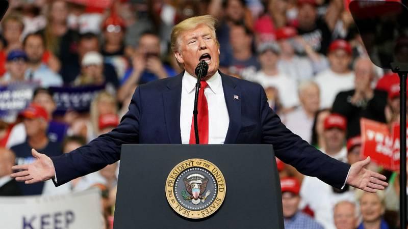Las mañanas de RNE con Íñigo Alfonso - Trump lanza su candidatura a la reelección en 2020 - Escuchar ahora