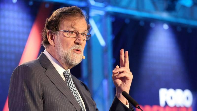 14 horas - Rajoy pide un gobierno moderado con una mayoría estable - Escuchar ahora