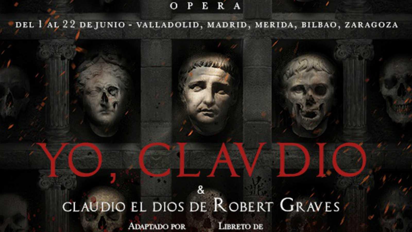 Literatro - 'Yo, Claudio y Claudio el Dios' - 21/06/19 - Escuchar ahora