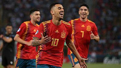 Goles España 5 Polonia 0 - Escuchar ahora