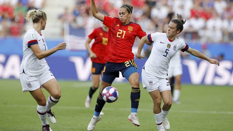 Tablero deportivo - Los goles del España 1 Estados Unidos 2 - Escuchar ahora