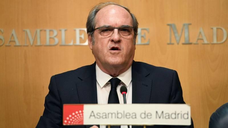 14 horas - Gabilondo se postula para la investidura en la Comunidad de Madrid - escuchar ahora