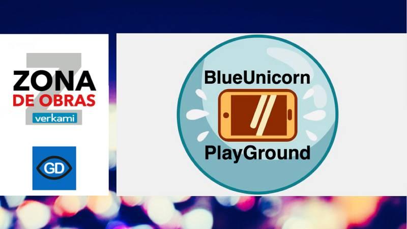 """'Blue Unicorn Playground' - Verkami - """"Zona de obras"""" - Escuchar ahora"""