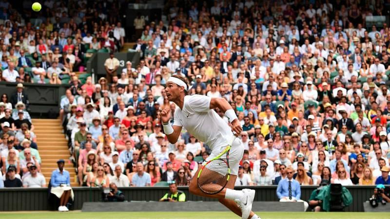 14 horas fin de semana - Primera vez en Wimbledon que cuatro españoles entran en octavos de final - Escuchar ahora
