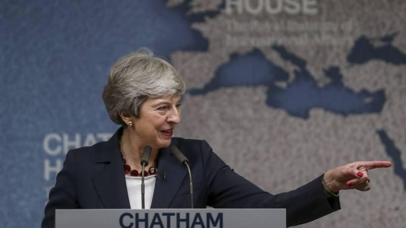 """Boletines RNE - Theresa May pide """"mayor voluntad"""" antes de dejar el cargo - Escuchar ahora"""
