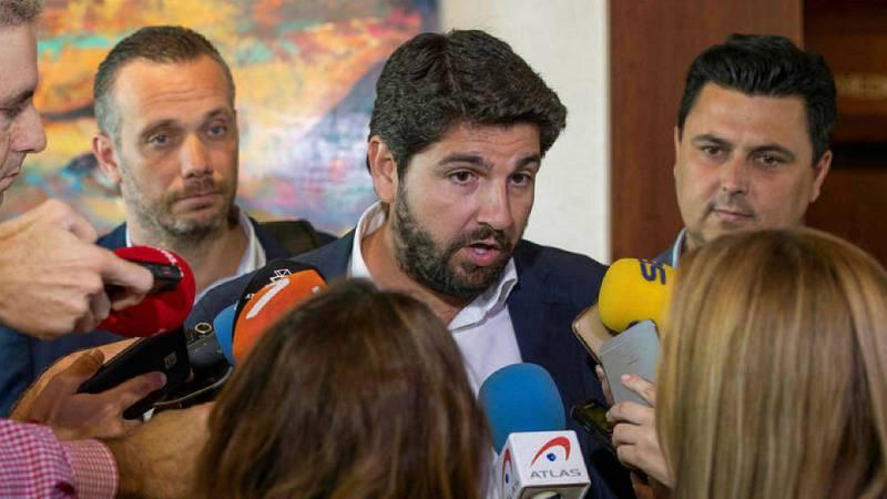 Boletines RNE - PP y Cs aceptan el documento de Vox en Murcia y desbloquean la investidura de López Miras - Escuchar ahora