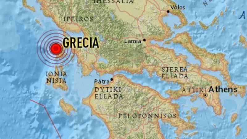 14 horas - Un terremoto de magnitud 5,3 sacude Atenas - escuchar ahora